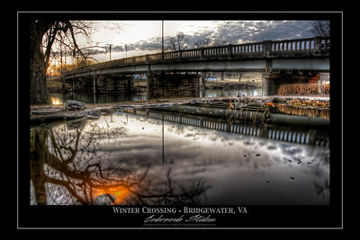 FINE ART - WINTER CROSSING