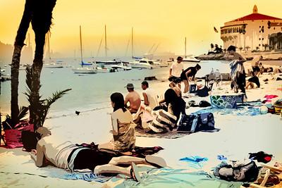 Descando Beach on Catalina