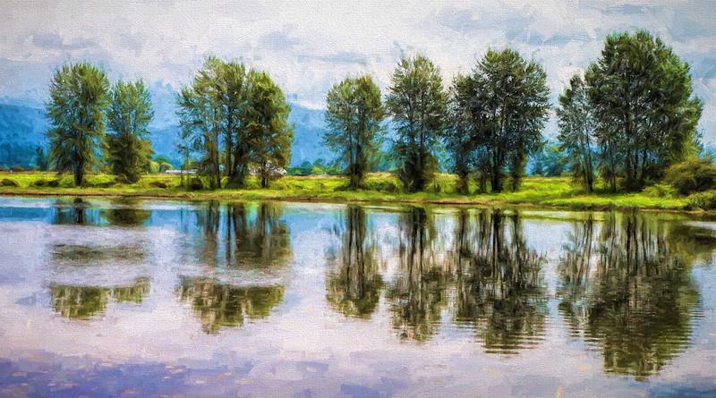 Harrison River Print