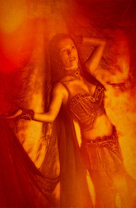 JUNE 19, 2007---Maya Salm, belly dance instructor. (Montgomery Advertiser, David Bundy)