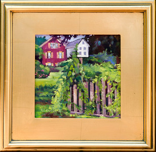 Home– 8x8  $150 (framed)
