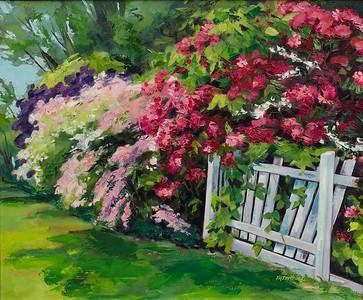 Color Overflow, 20x24, $400 framed