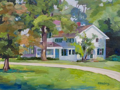 The Stanford House, Cuyahoga Valley Nat'l Park, 9x12 $230