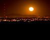 Moon over Catalina Mountains, Tucson , Arizona