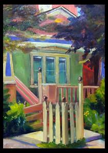 Crouse Street Sherbet House–$175 framed 12x9