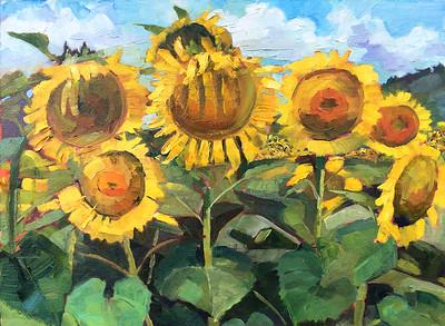 """""""My Sunshine"""" 12x16 • Oil on Panel •$400"""