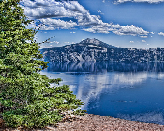 Crater Lake, Oregon, Enhanced