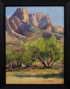 Catalina Sunset, 12x9 $230 framed