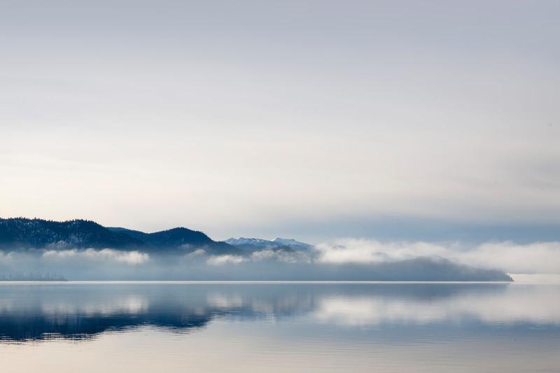 Fog Bank Over Tahoe