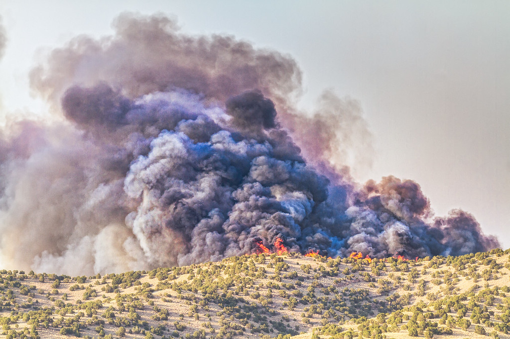 174 of my 365 program; fire at Eagle Mountain