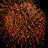 19 Fireworks at St. Simons, GA taken from a Yacht in St. Simons Sound. Slow shutter speeds used to create Squiggles.