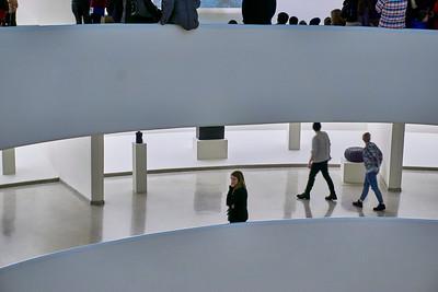 New York, New York - Feb.15, 2016 : Fischli Weiss at the Guggenheim Museum  Credit: Robert Altman