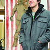 The Revival Gallery on Main Street in Fitchburg with be hosting a gallery show called Starving Artists to help collect food for the local food pantries in the area. Artist Ryan Gardell talks about the show on Saturday at the Rivival Gallery on Friday morning. SENTINEL & ENTERPRISE/JOHN LOVE