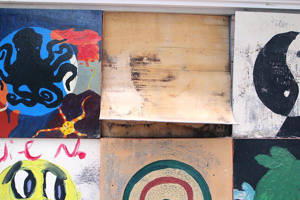 Fitchburg art vandalized