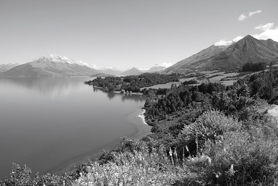 The Ride from Queenstown to Glenorchy, NZ