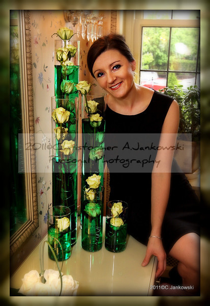 "In this photo Aneta- creator of all flower arrangements in this gallery.<br /> <a href=""http://anetaseuropeanfloral.com/"">http://anetaseuropeanfloral.com/</a>"