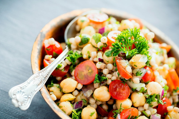 """Chickpea Salad""  © Nicole S. Young"