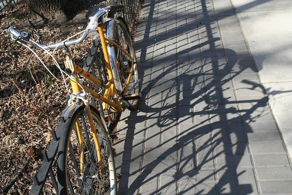 yellow wheels II