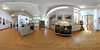 Shades of Spring 2012, Art League of Germantown spring show at BlackRock Arts Center, Germantown, MD.<br /> <br /> This photograph is an equirectangular projection view of the room. Stitched from 13 different shots. Over the next several days, I will be posting on my daily photos gallery different projections from this single set of pictures, illustrating the wide range of perspectives that one can have from a single vantage point.<br /> <br /> Daily photo: 5/2/2012