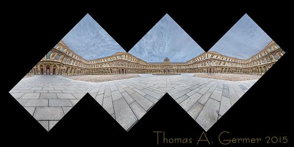 Louvre Cour Carrée Center