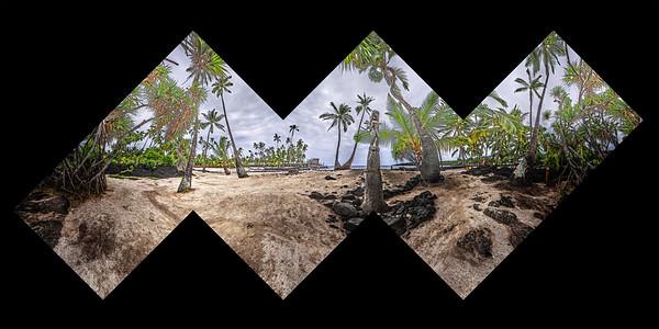 Tiki and Palms