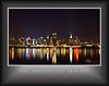 Manhattan Skyline 11x14