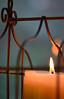 45  Jesus candle (left photo)
