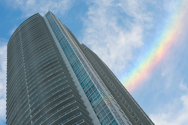 Rainbow Scraper in Miami // May 2010 //