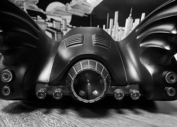 1989 Batmobile // Macro Monochrome //