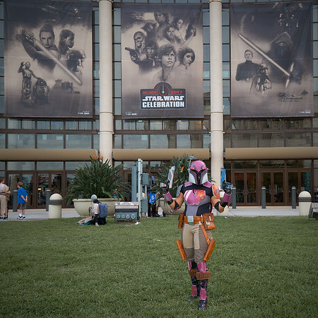 Sabine Wren at Star Wars Celebration Orlando