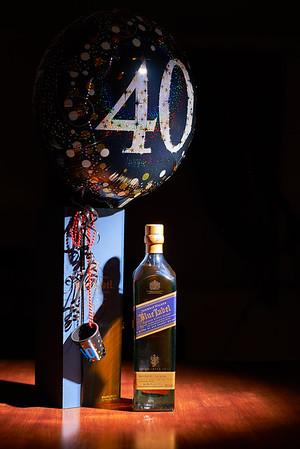 Blue Label 40th Birthday Ed.