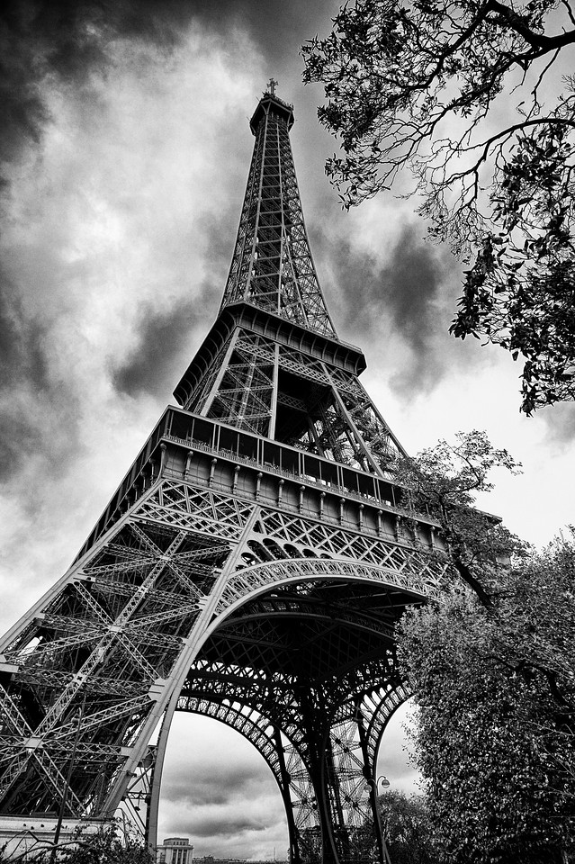 Eiffel Tower October Sky