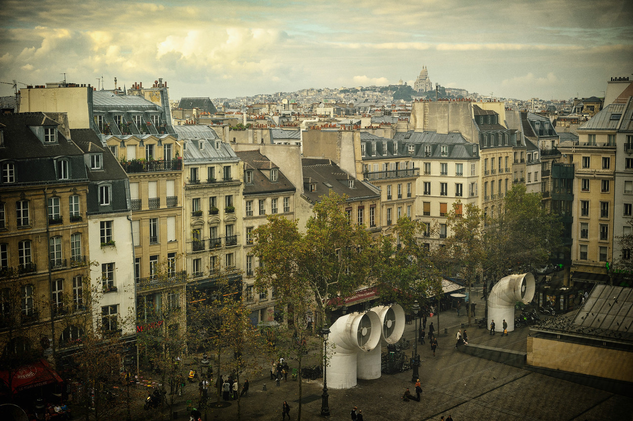 Paris Skyline 2011 #2