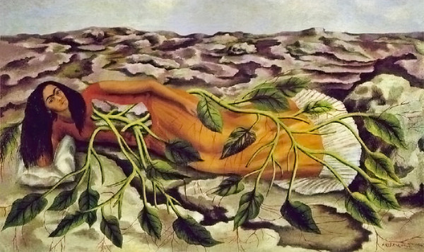Roots<br /> This is my favorite Frida Kahlo painting.