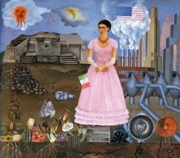 Self-Portrait on the Border of Mexico and the U.S.
