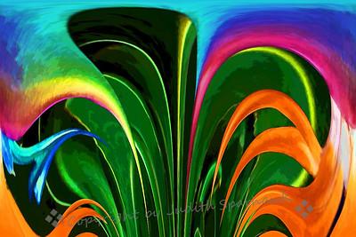 Bird of Paradise Abstract