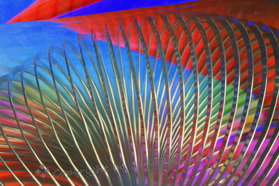 Slinky in Red & Blue