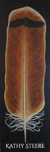 """10"""" x 30"""", acrylic on canvas, 2015"""