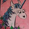 Unicorn on Pink
