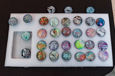 $5 each. Small magnets glass cabochon each with unique painting.