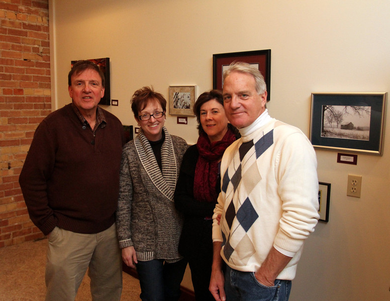 IPFW Emerging Professional Photography Certificate Graduates (L-R): Kent Sweitzer, Camille Kruse, Joyce Hartley and Craig Vespe