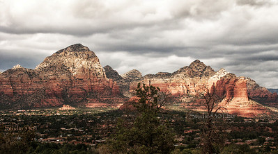 Sedona at Dusk, AZ  Photo # 0114 Patricia Lam see other one without watermark