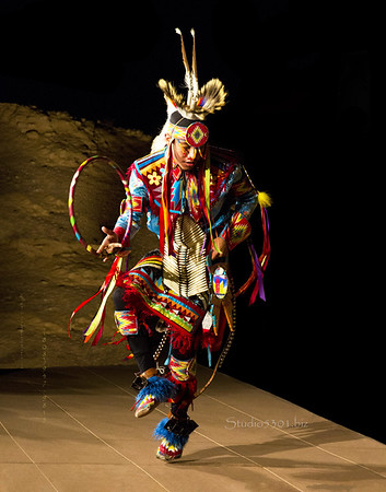 hoop 11x14 ltr FULL ROCK  Ty native dancer 1880 5
