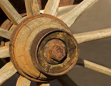 Wood wheel hub CvCrk 7532-2sRGB