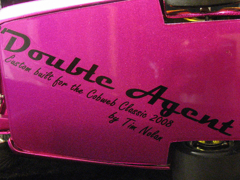Decals are hand made on ink jet printer.