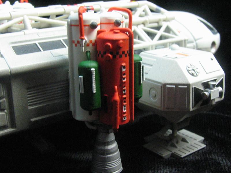 Resin/Metal booster tanks