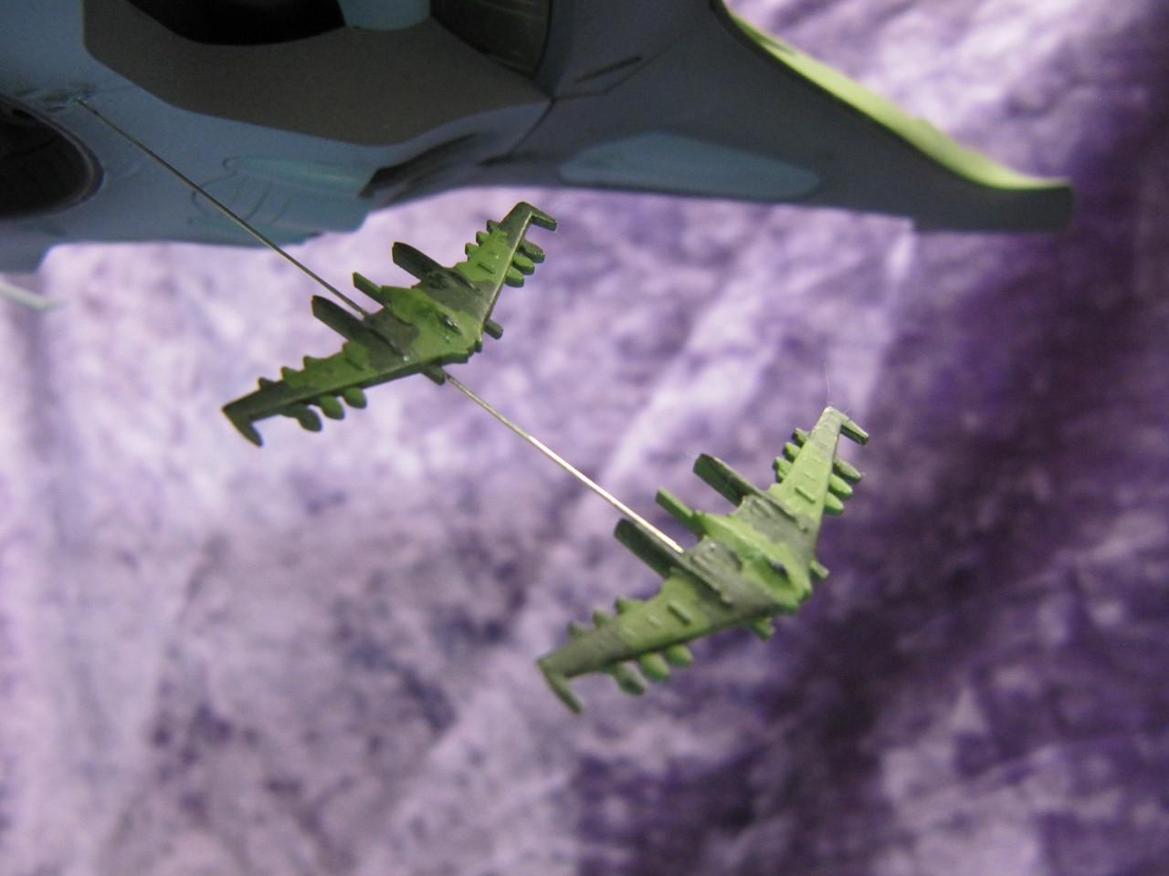 Micro-sized DWG229's in flight...