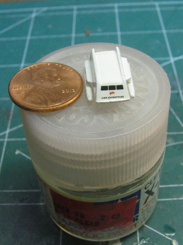 Yep, it's tiny!