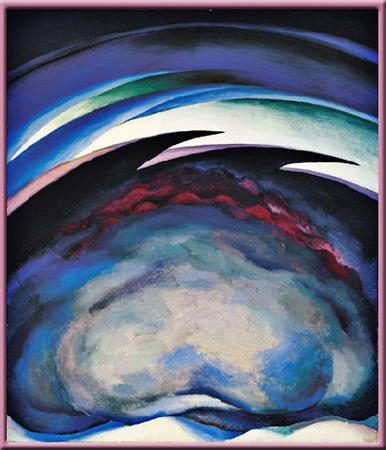 Georgia O'Keeffe paintings