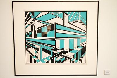 "Geoscape - Kelly McGreehan; ""Kitchen Korner"" - Printmaking Thesis Exhibit; Ohio University, March 2012"